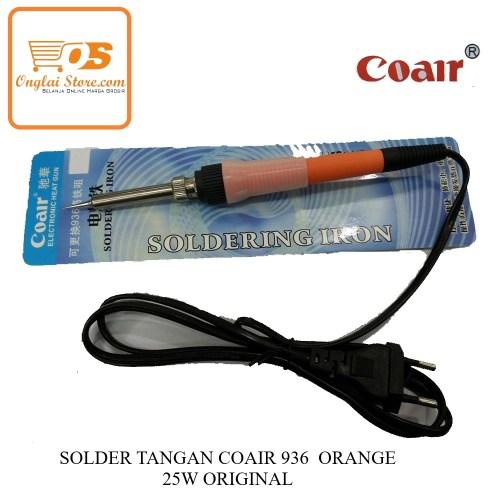 SOLDER TANGAN COAIR 936  ORANGE  25W ORIGINAL-70887