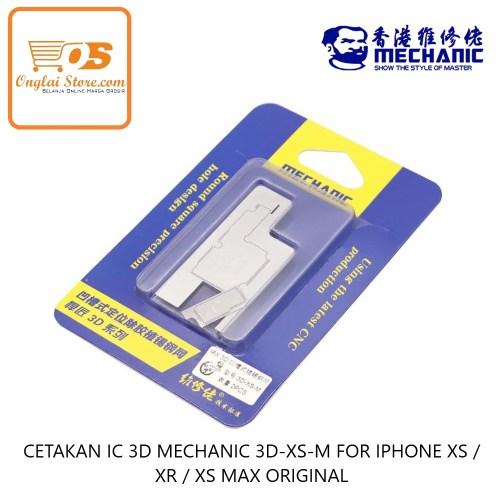 CETAKAN IC 3D MECHANIC 3D-XS-M FOR IPHONE XS / XR / XS MAX ORIGINAL