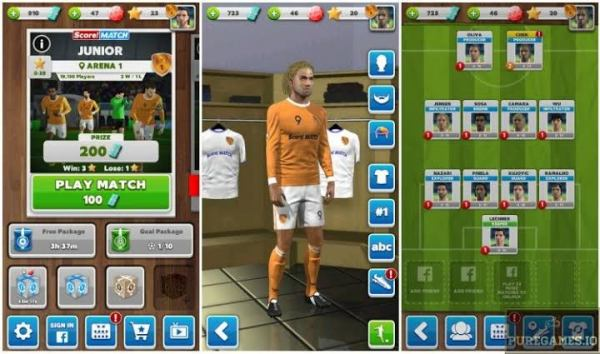 Score! Match Mod Apk Full Access Download