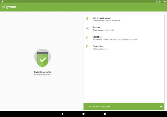 AntiVirus Dr.Web Light APK for Android