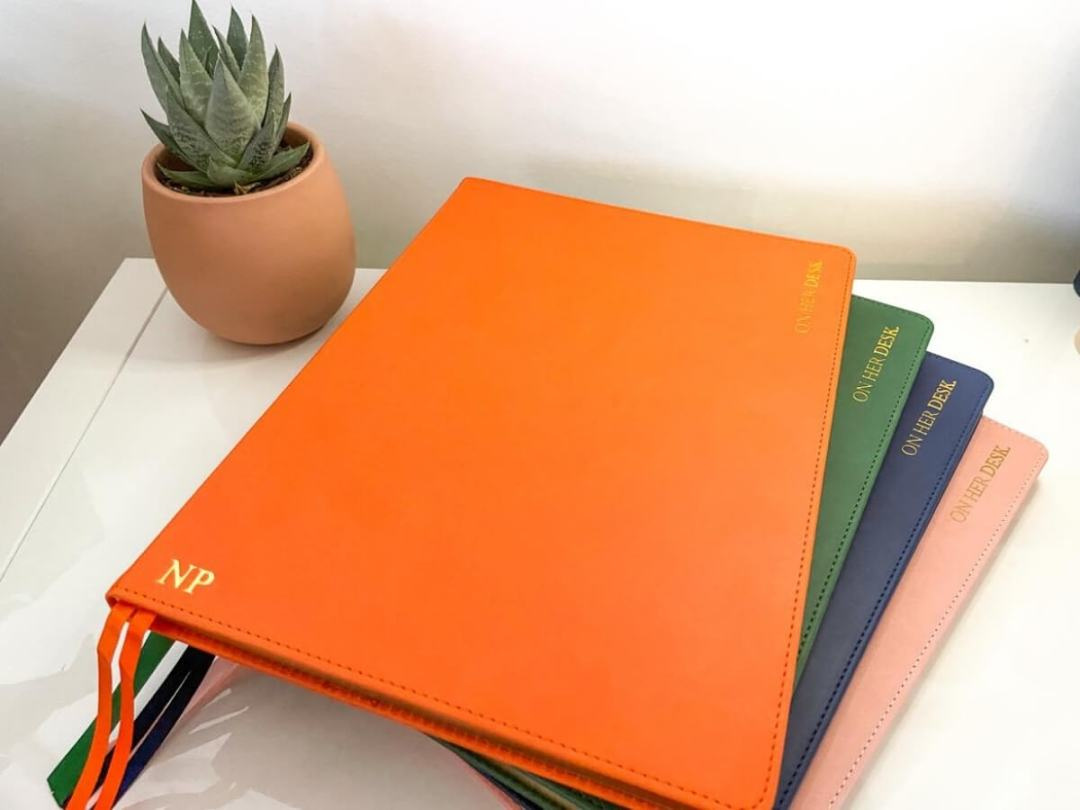 A4 Hardcover Notebook with personalisation