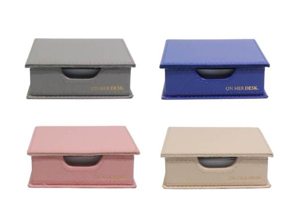 Sticky note holders for women