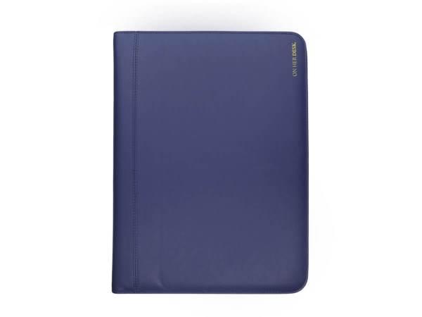 A4 Compendium Folder in navy blue