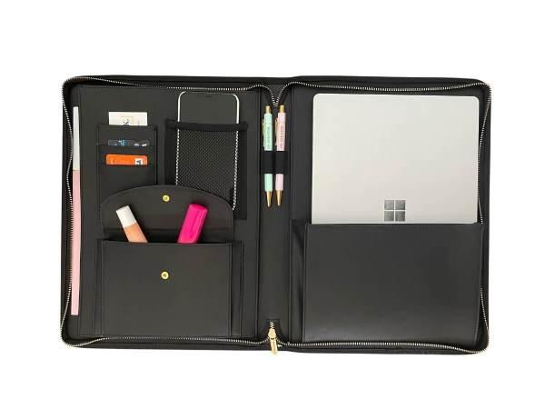 A4 Compendium Folder with work essentials organised inside