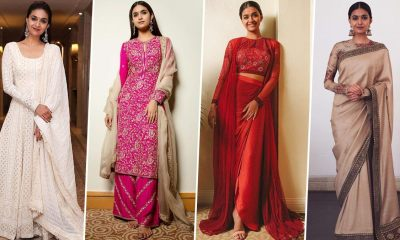 Keerthy Suresh Birthday Special: She Loves Ethnic Ensembles and There's No One Who Nails Them As Well As Her (View Pics)