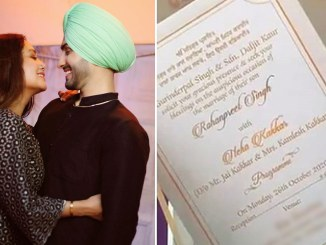 Neha Kakkar and Rohanpreet Singh's Wedding Invite Pic Goes Viral, Duo to Marry on October 26? (View Post)