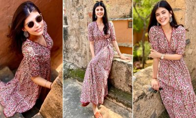 Sanjana Sanghi Is Channeling That Pretty in Pink Vibe With a Printed Angrakha!