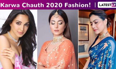Karva Chauth 2020 Fashion: Contemporary Ethnic Celebrity Inspired Styles in Pink, Blue, Orange, Neon and Yellow!