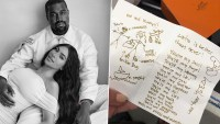 Kim Kardashian Shares 30th Birthday Card from Kanye West That Inspired the Singer's Music Album 'My Beautiful Dark Twisted Fantasy' (View Post)
