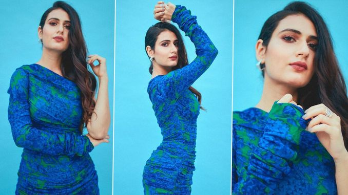 Fatima Sana Shaikh Is Dialling up Some Breezy Sass in This One Shoulder Printed Mini Dress!