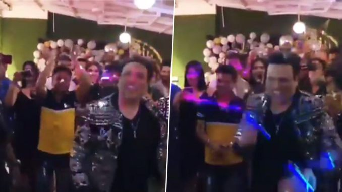 Govinda Dances on The Original Husn Hai Suhana From Coolie No 1 On His Birthday And We Can Only Say 'Old Will Always Be Gold' (Watch Video)