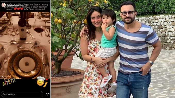Kareena Kapoor Khan Begins The Countdown To 2021 With A Sit-In Dinner With Cousins; Saif Ali Khan Is The Photographer (View Pic)
