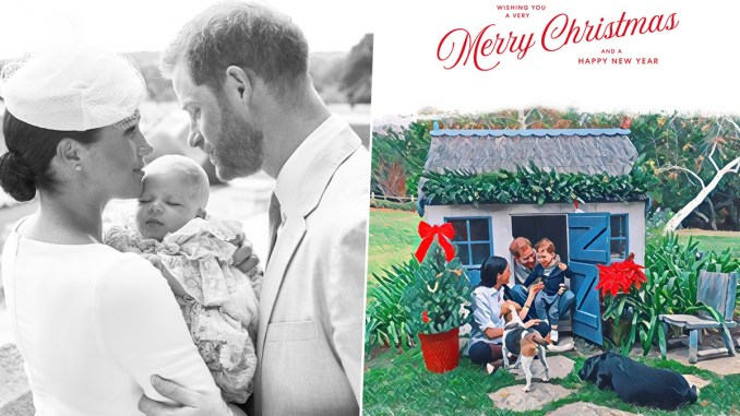 Meghan Markle and Prince Harry Feature in 2020 Christmas Card With Son Archie (View Pic)