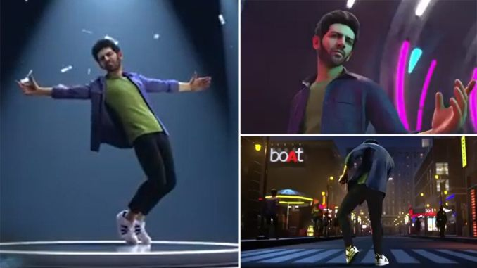 Nachunga Aise Teaser: Kartik Aaryan's Statue From Bandra Streets Finally Makes It to the Digital World, All Set to Welcome 2021 on a Groovy Note (Watch Video)