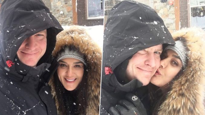 Preity Zinta Shares Winter-Vibes With Husband Gene Goodenough in Recent Instagram Post
