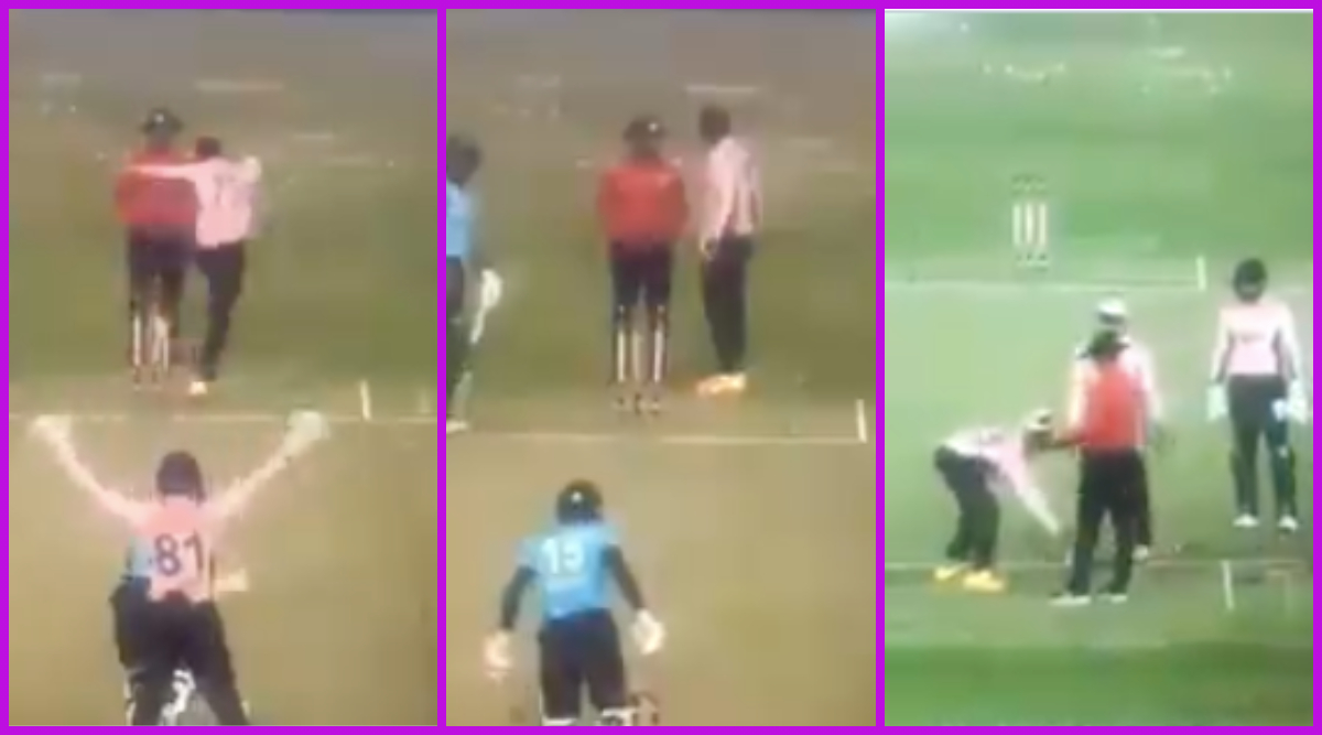 Shakib Al Hasan Loses his Cool, Kicks Stumps; Argues With Umpire During Mohammedan Sporting Club vs Abahani Limited DPL T20 Cricket League 2021 (Watch Viral Videos)