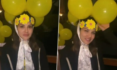Sunny Leone Shares Her Month Old Birthday Video, Actress Looks Too Cute in It – WATCH