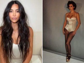 Kim Kardashian Treats Fans With a Jaw-Dropping BTS Picture From Her First Photoshoot!