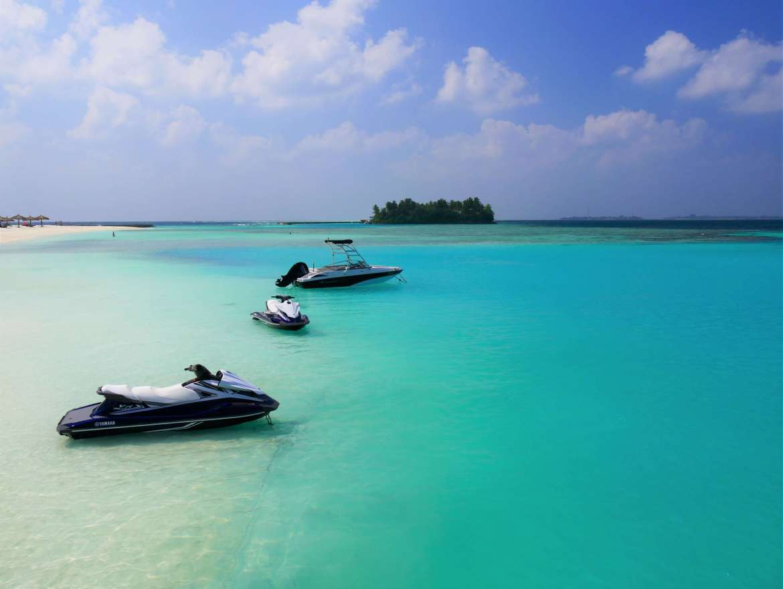 Jet Ski aux Maldives