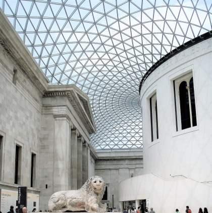 Le-Hall-du-British-Museum-à-Londres