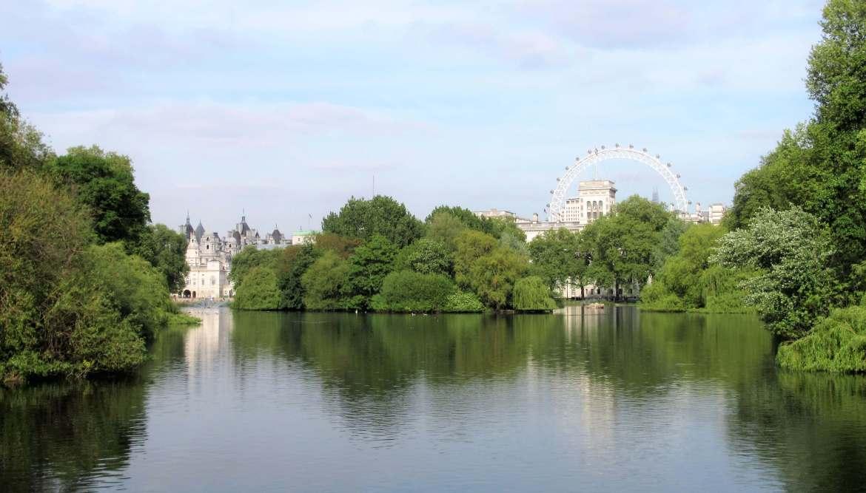 Le St James's Park à Londres