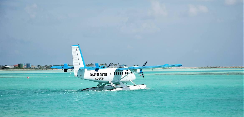 L'hydravion, le meilleur moyen pour voyager aux Maldives