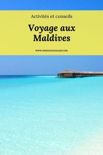 Voyage aux Maldives Pinterest