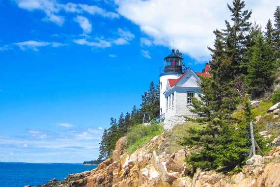 Road trip Côte Est des USA phare du Maine
