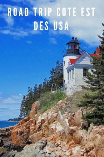 Road trip côte est des USA Pinterest