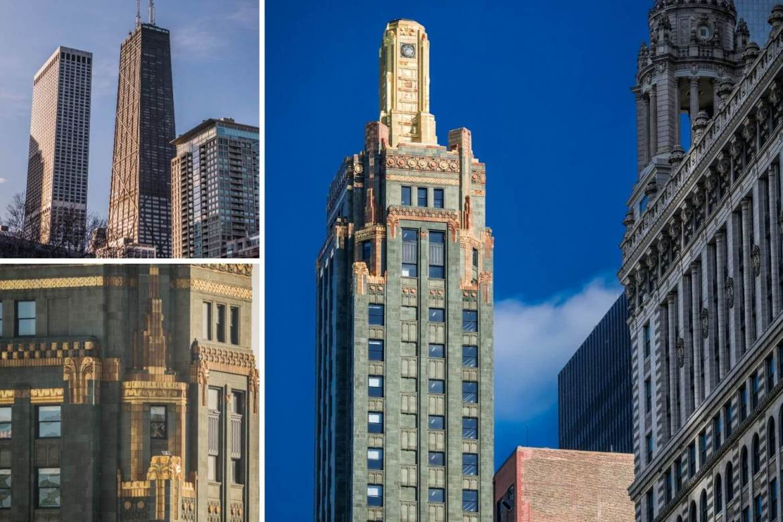 Buildings de Chicago Big John et Carbide