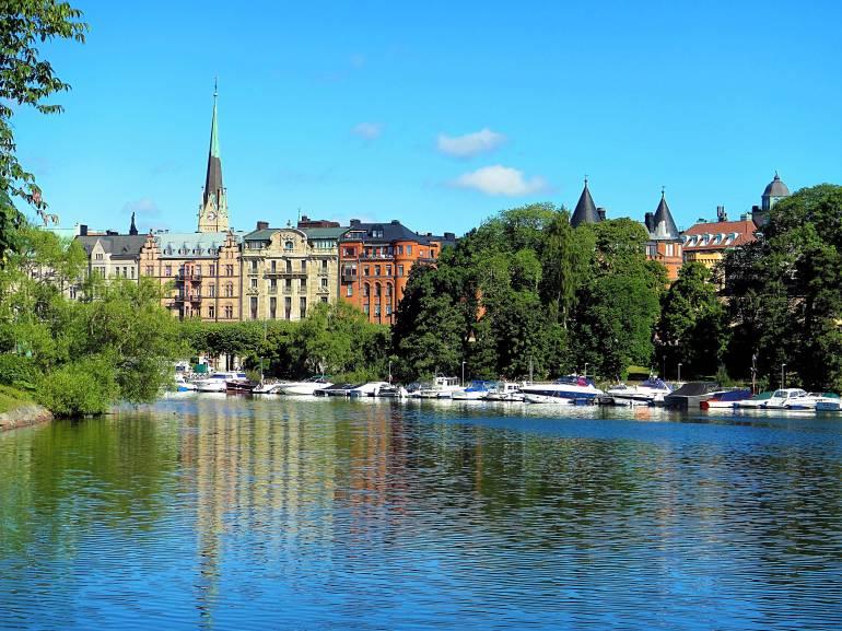 Balade paisible à Djurgarden à Stockholm
