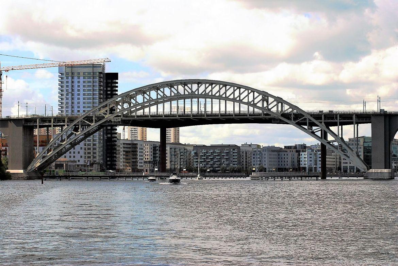 Un des ponts de la visite de Stockholm en bateau