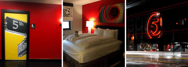 Hôtel five pour loger à Seattle