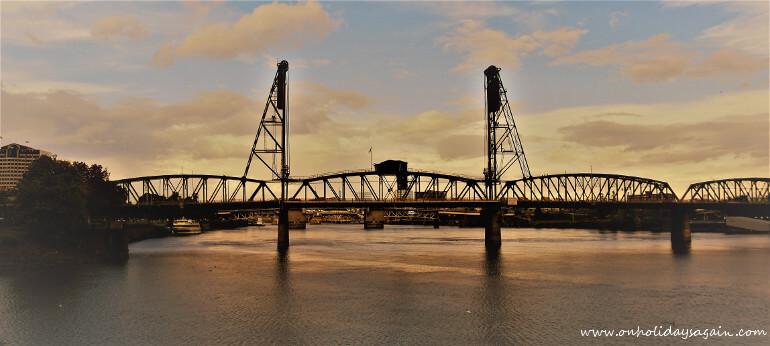 Waterfront Pont Portland Oregon