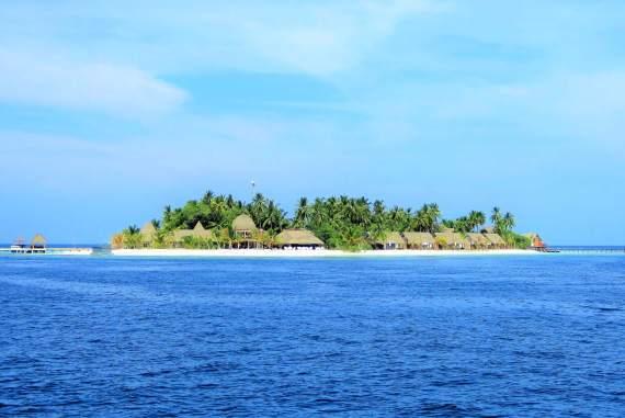 Ile de Kandhulu aux Maldives