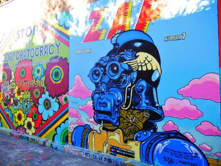 Fresque de Mission District Street art San Francisco