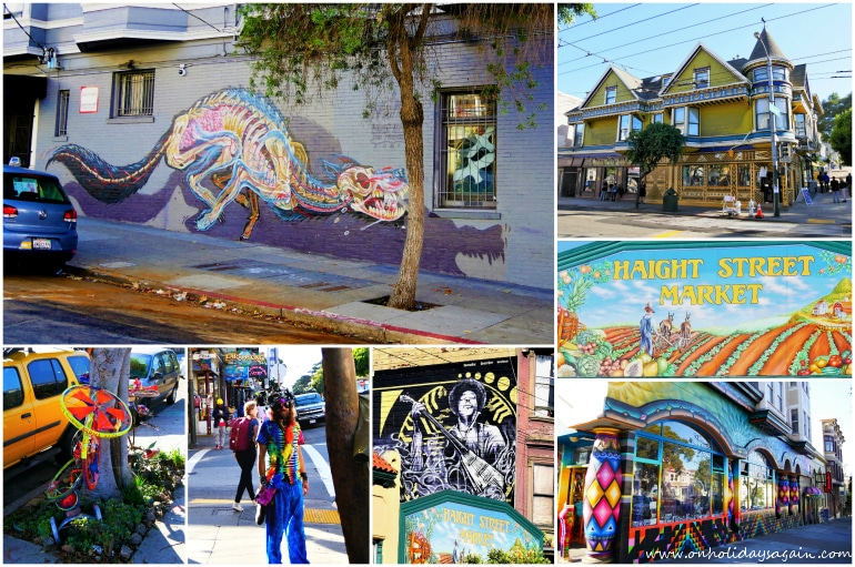 Visiter San Francisco en 1 jour Haight Ashbury San Francisco Californie USA blog voyage suisse cosy on holidays again