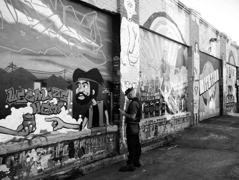 Street art San Francisco rue alternative