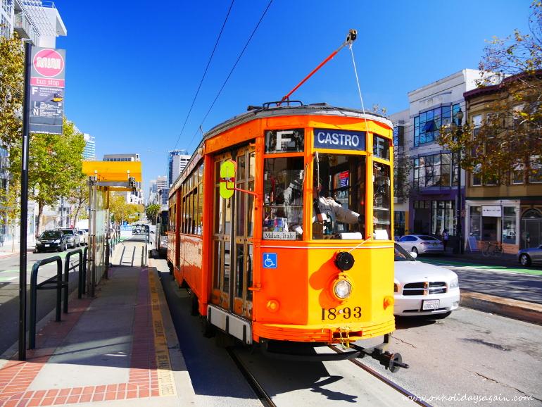 Prendre un vieux tram pour visiter San Francisco en 1 jour