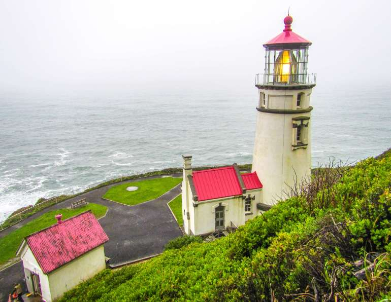 Heceta Head Lighthouse en Oregon