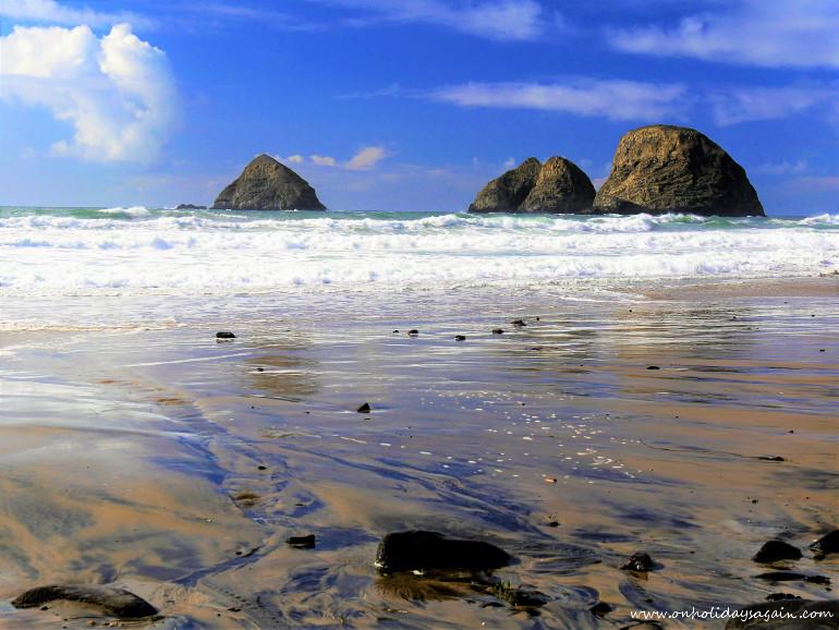 Road trip en Oregon plage à Oceanside