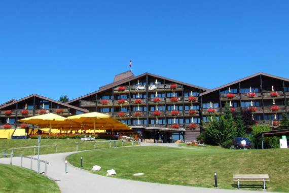 Hôtel Cailler à Charmey en Gruyère Suisse