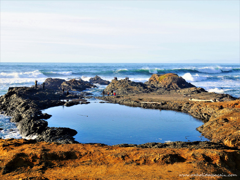 Road trip en Californie du Nord Glass Beach Fort Bragg Californie USA blog voyage suisse cosy On holidays again