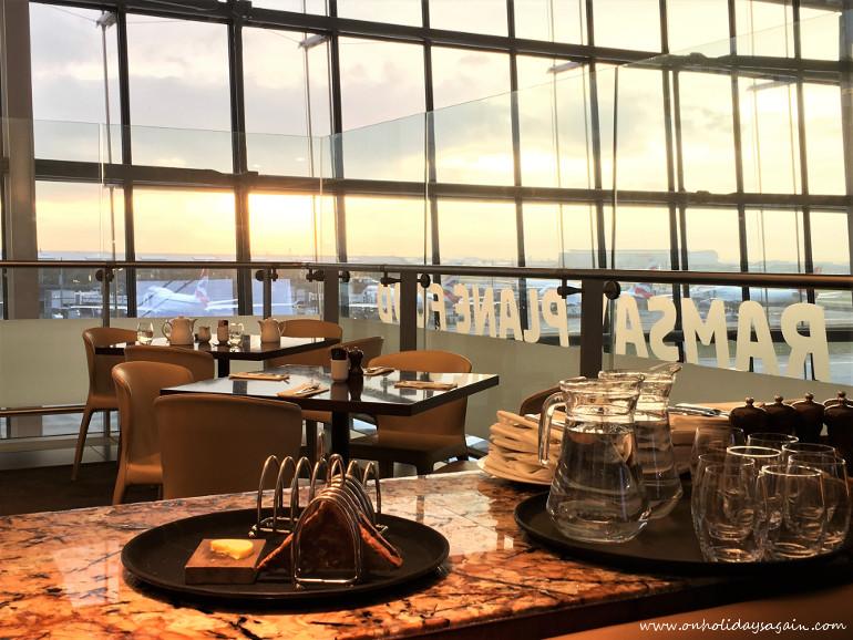 Chez Gordon Ramsay au Terminal 5 de Londres Heathrow