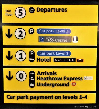Le Sofitel se situe dans l'aéroport de Londres Heathrow
