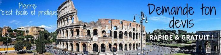 Devis week-end romatique à Rome