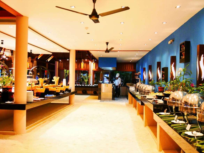 Restaurant de Veligandu Island resort
