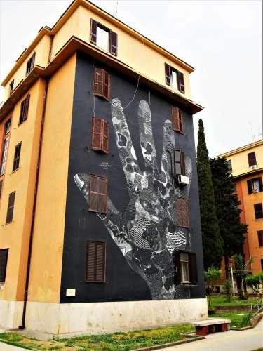 Street art à Rome Philippe Baudelocque Elisabetta Tor Marancia