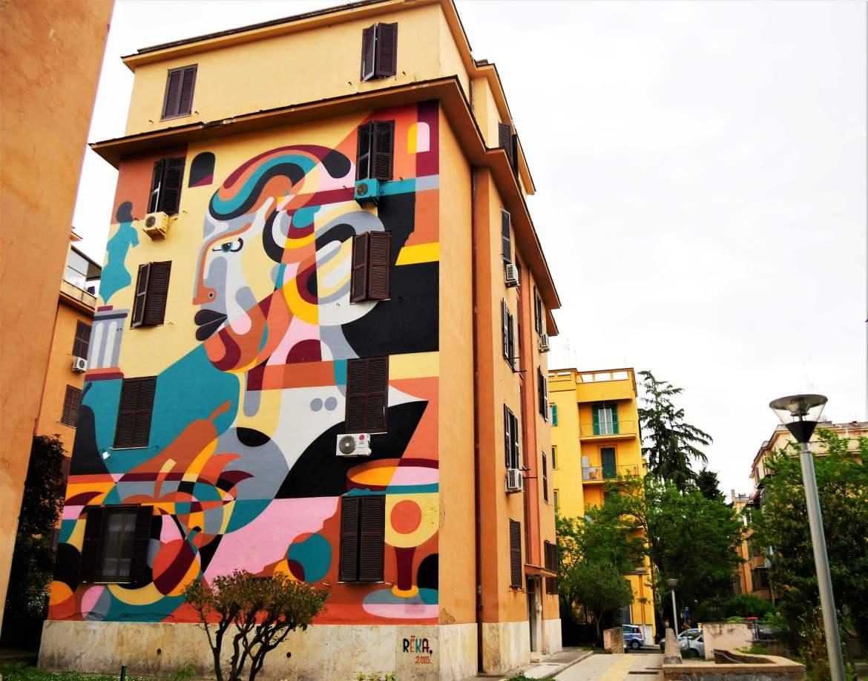 Street art à Rome Reka Natura morta Tor Marancia