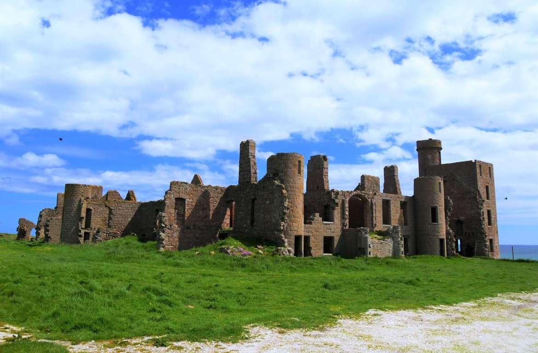 Les ruines du Slains Castle